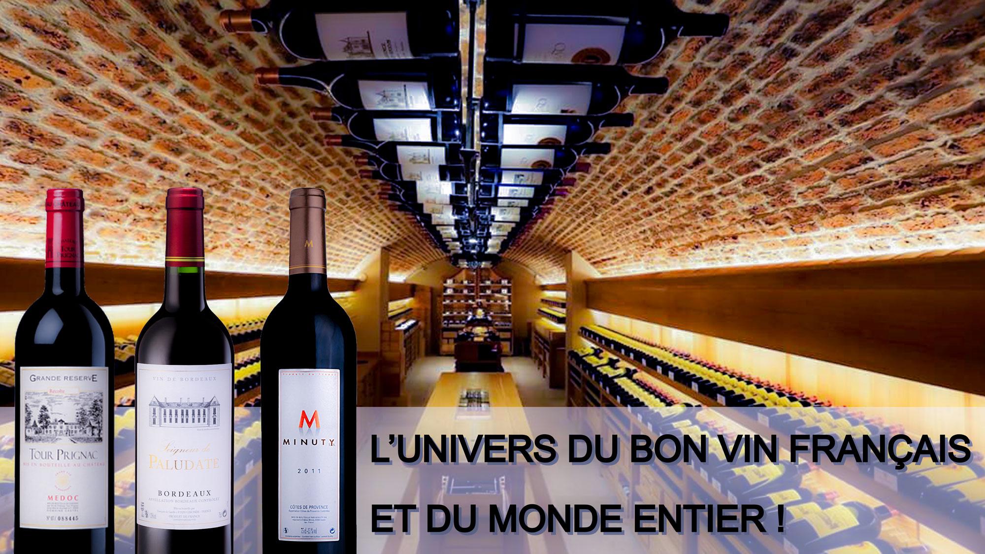 Les meilleurs vins à pris discount...